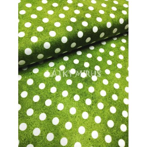 č.4967 puntíky na zelené