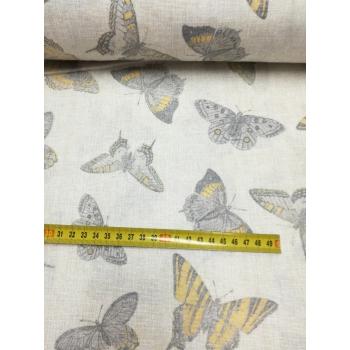 č.3232 motýli na režné - š.280cm