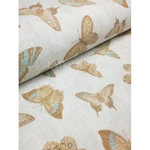č.3223 motýli - š.280cm