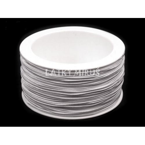 Kulatá pruženka Ø1,5 mm (1m) bílá