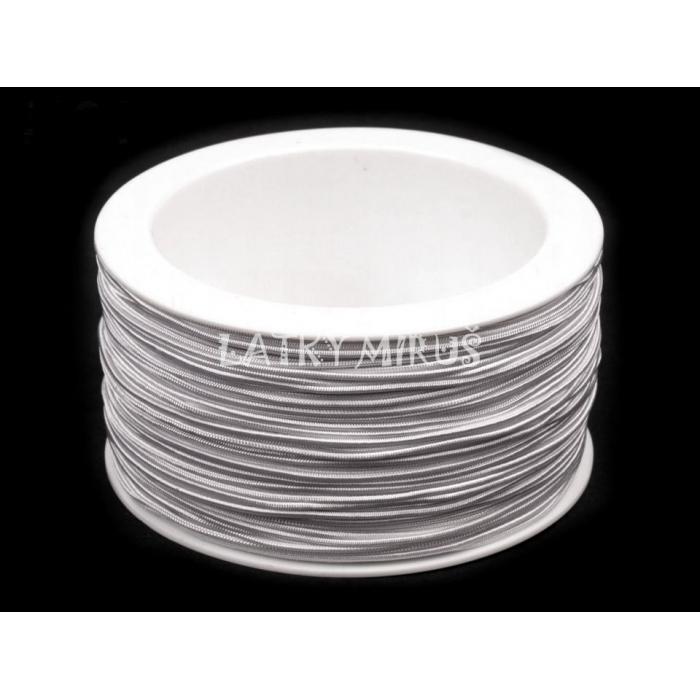Kulatá pruženka Ø1 mm (1m) bílá