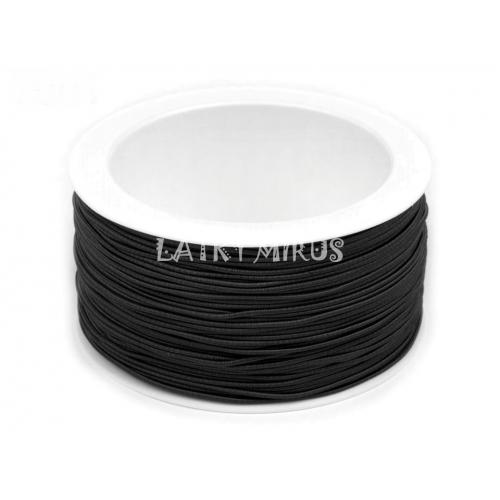 Kulatá pruženka Ø1,1 mm (1m) černá