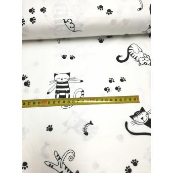 č.3963 kočky na bílé