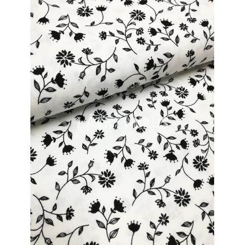 č.5601 květy černé