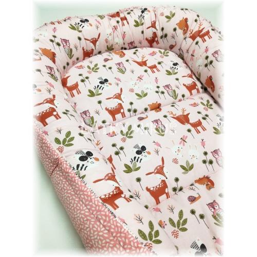 Hnízdo pro miminko - lesík na růžové