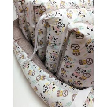 Hnízdečko pro miminko - pandy 1