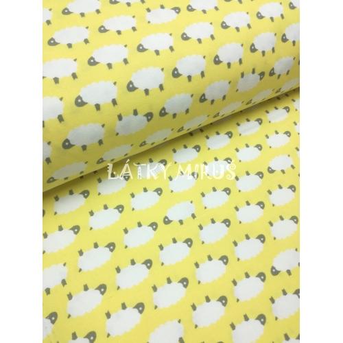 č.789 ovečky na žluté