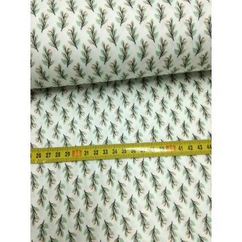 č.2645 větvičky na bílé