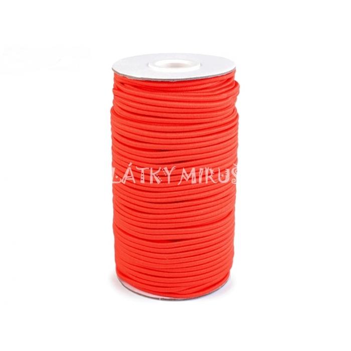 Kulatá pruženka Ø 1.4mm - reflexní oranžová