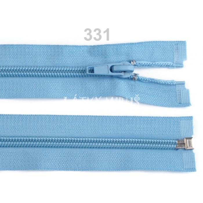 Spirálový zip šíře 5 mm délka 50 cm bundový sv.modrý