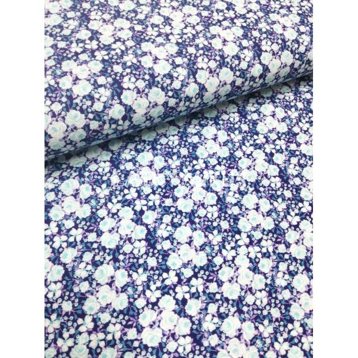 č.54 květy na modré