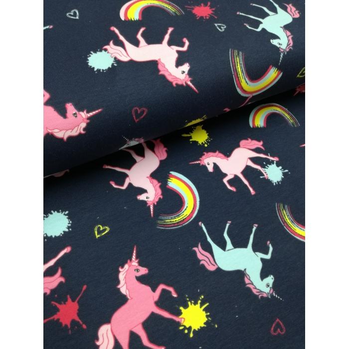 č.2814 teplákovina - Unicorn