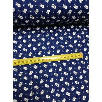 č.1676 květy modrotisk