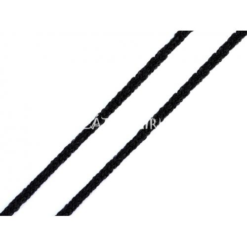 Kulatá Pruženka Ø2 Mm Měkká černá
