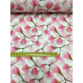 č.4354 teplákovina - magnolie