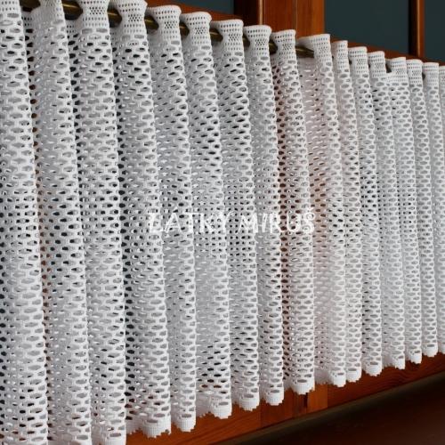 Vitrážová záclona Andrea 60cm