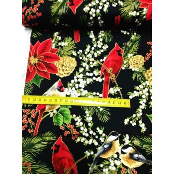 č.4229 vánoční látka
