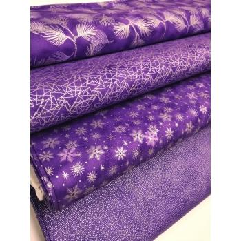 č.4234 větvičky na fialové