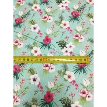 č.4306 květy na mentolové