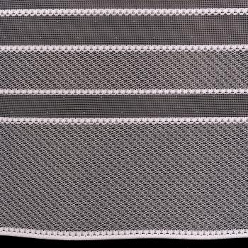 Vitrážová záclona clevera 40cm