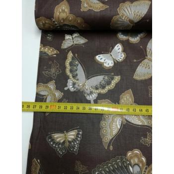 č.2145 motýli na hnědé
