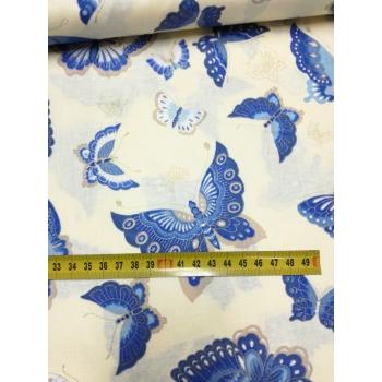č.2150 motýli na smetanové