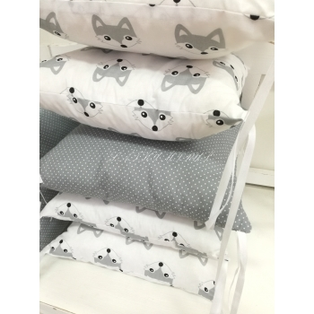 Hnízdo pro miminko - šedé lišky