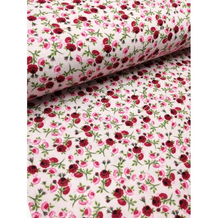 č.3007 plenkovina - růže na růžové