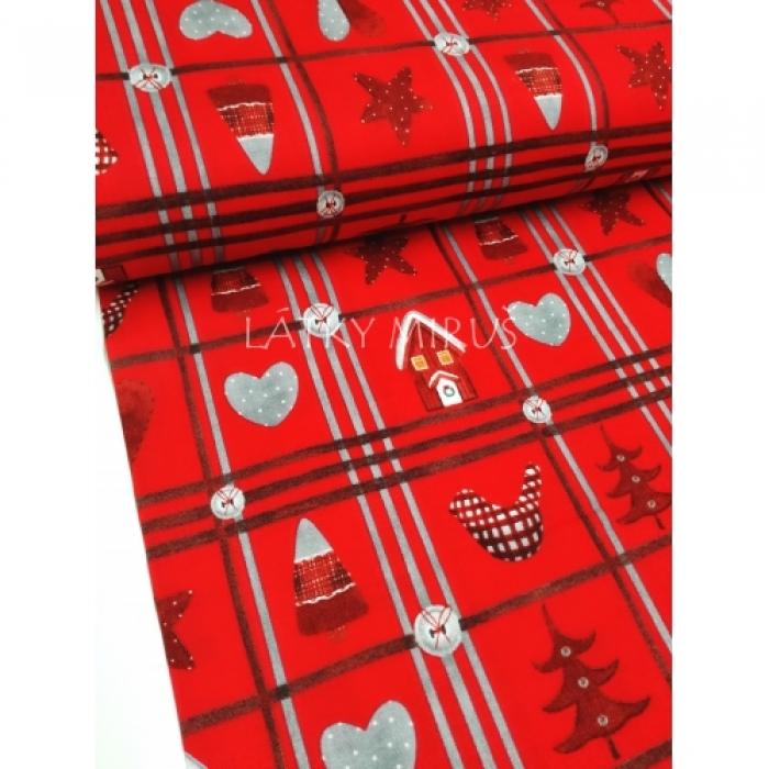 č.9172 vánoční patchwork
