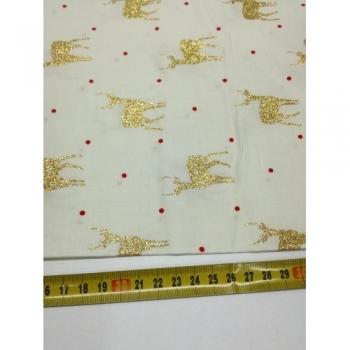 č.9146 zlatí jeleni na smetanové
