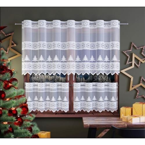 Záclona vánoční - drapérka 60cm