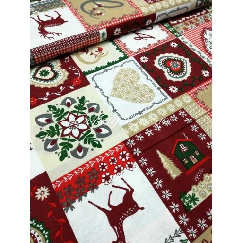 Vánoční patchwork - směsovka