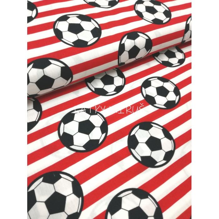 č.5284 popelín - míče