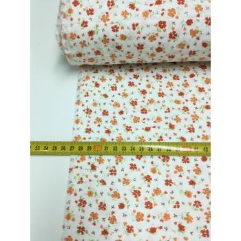 (10m) č.2912 květy oranžové