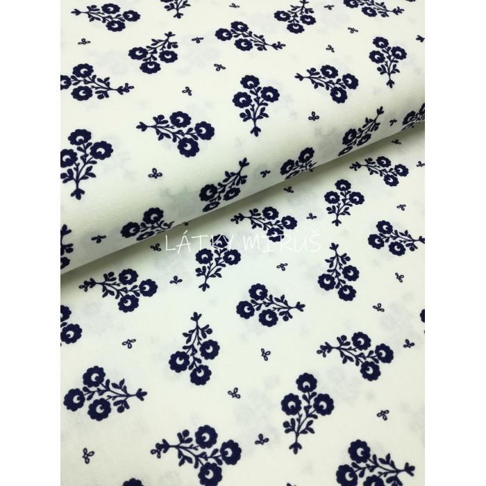 č.6334 květy modré