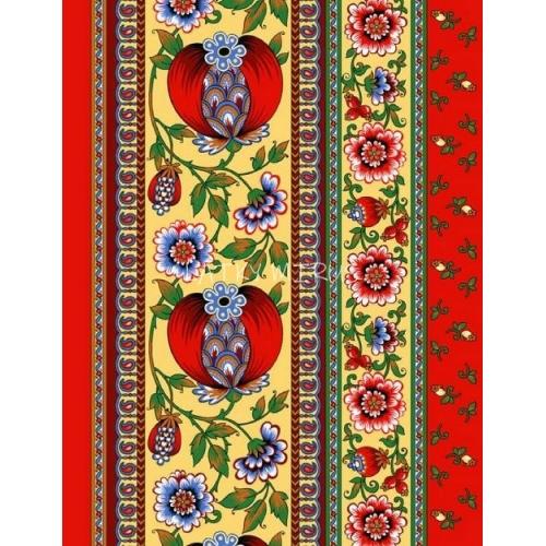 Vafle - utěrkovina (63x50) granátové jablko
