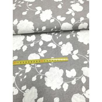 č.6282 květy na šedé