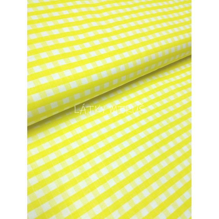č.2475 káro žluté