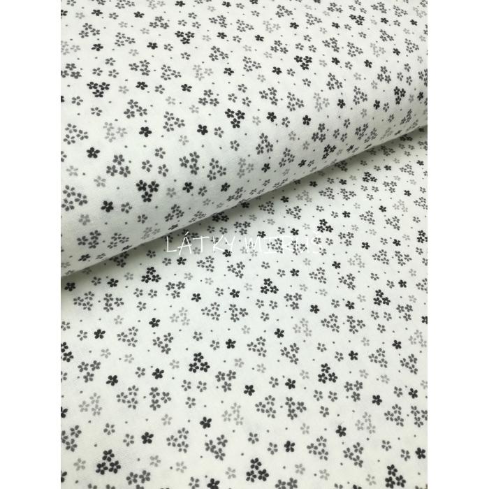 č.3053 květy šedé