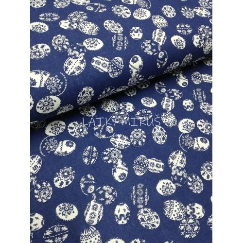 č.1084 kraslice na modré
