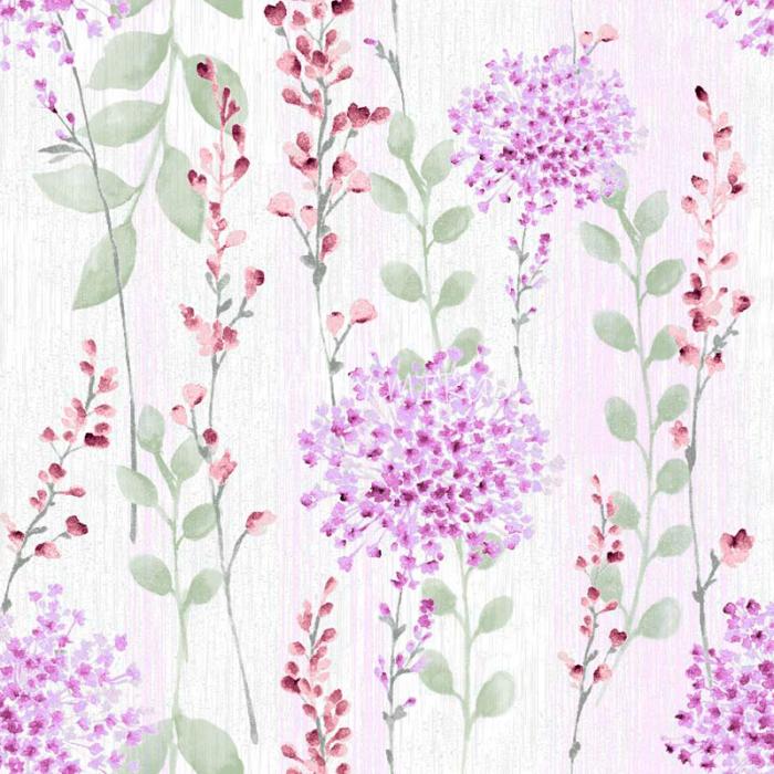 č.5340 květy fialové - směsovka