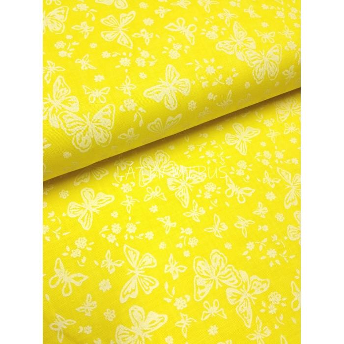 Č.2382 motýli na žluté
