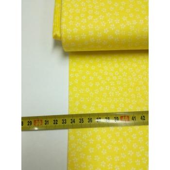 č.2378  drobné kvítí na žluté