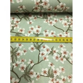 č.3382 květy na mentolové
