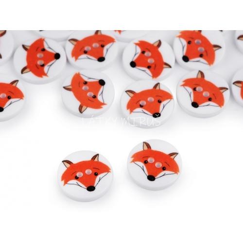 Knoflík 23 liška