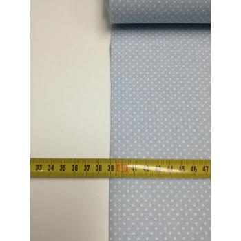 č.1102 puntík na pastelově modré