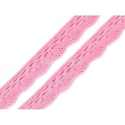Krajka č.47 růžová