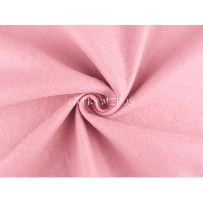 Filc / plsť metráž  růžová 380616