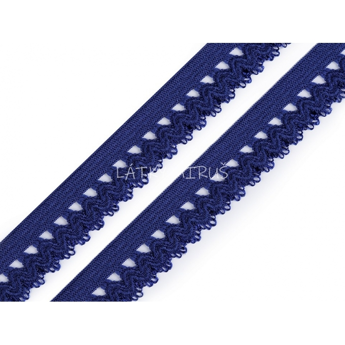 Ozdobná pruženka 440601 - modrá
