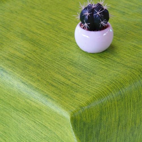 PVC ubrusovina - Melír zelený